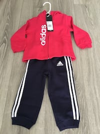 Adidas baby girl suits 12m Gatineau, J9A