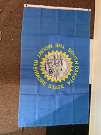 South Dakota flag Billings, 59101