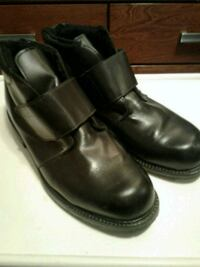 Men's Black Leather Winter Ankle Boots NEW PRICE Smithville, L0R 2A0