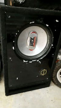 Mtx  10 inch sub in box  Surrey, V4N 5V1