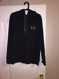 Black and Grey Under Armour Hoodie 3157 km