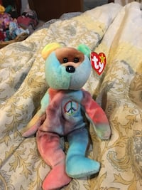 0078a4211a2 Used Blue red and brown ty beanie baby for sale in Columbus - letgo