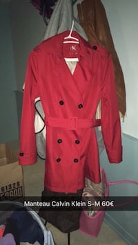 taille ms rouge trench-coat croisé Cergy, 95000