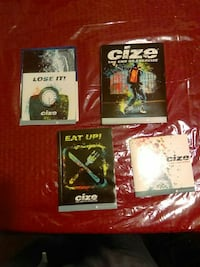 Cize Exercise Dvd's