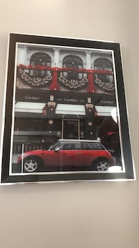 Red and black car picture , wall decor  Edmonton, T5X 0G1
