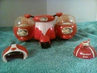 Real Cute little 3 Seat Vespa Motorcycle Toy $15 Oklahoma City, 73108