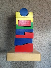 Stacking wooden puzzle Arlington, 22206