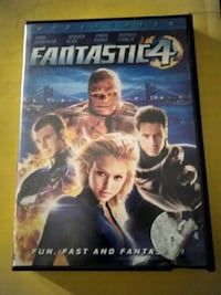 The Fantastic 4 DVD Movie! Chicago