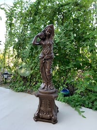 "35"" Lady statue for sale"