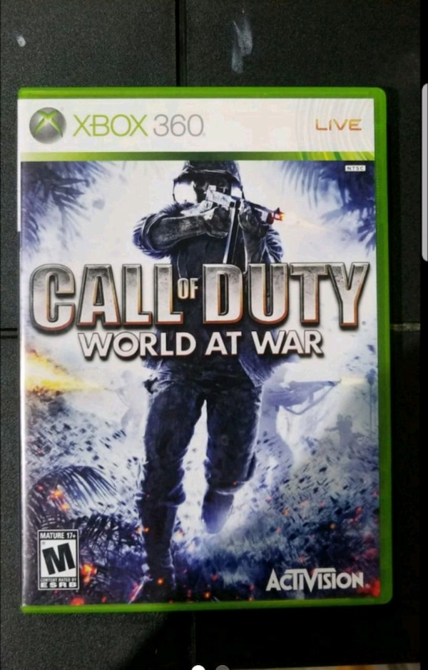 XBOX 360 Game: Call Of Duty World at War