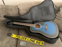 New acoustic/electric Guitar