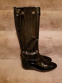 Cole Haan black patent boots size 8.5 Pittsburgh, 15241
