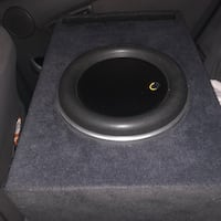 New 10w7ae subwoofer in a used factory spec ported box East Palo Alto, 94303