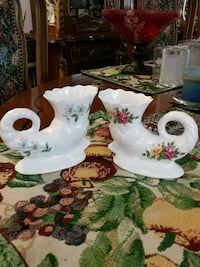Vintage set of 2 Sir George napkin holders Laval, H7G 2W7