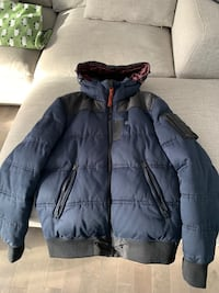 G star navy winter jacket
