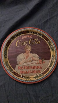 Coca Cola Faithful Reproduction tray Williamstown, 17098