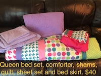 assorted bed sets 40 km