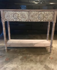 Embossed Metal Console Table Southlake, 76092