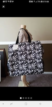 black and white floral tote bag Hagerstown, 21740