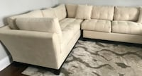 3pc Raymour & Flanagan Sectional with Chaise HUNTINGTONSTATION