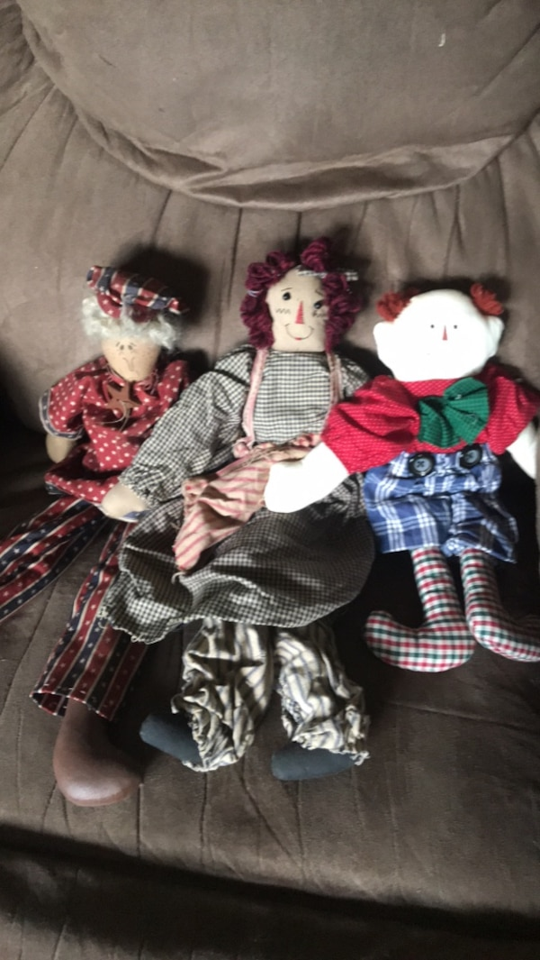 rag doll  collection