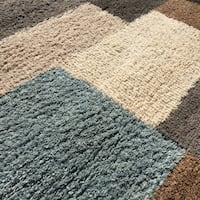 gray and white area rug Winter Garden, 34787