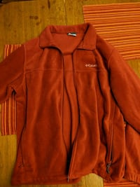 Columbia red zip-up fleece Boone, 50036