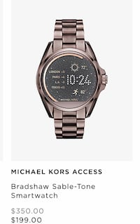 Michael kors access ** price firm$$$$$ newwww sealed box!! Cambio por ps4en caja Mission, 78573