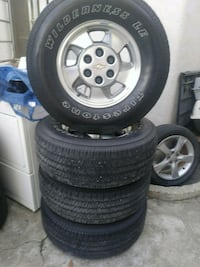 Chevy rims wheels and tires  Morgan Hill, 95037