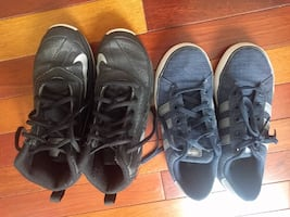 Nike and Adidas shoes.  $15 each