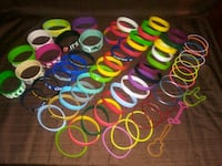 65 Rubber Assorted Bracelets Virginia Beach, 23454