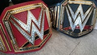Replica WWE Universal & Heavyweight Championship Belts Port Coquitlam, V3C 3G5
