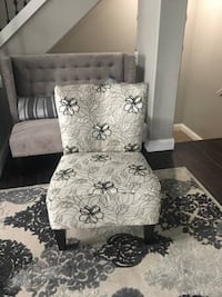 """Beautiful decorative large accent chair for sale. This chair was originally purchased from the Comfort Shoppe and on sale I paid just under $600.00. Pictures don't do justice for this beautiful and unique accent chair. 35"""" tall x 26.5"""" wide. Asking $275.0 Dane, 53529"""