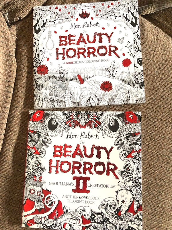 The BEAUTY of HORROR~Adult color