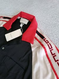 Brand New /w tags GUCCI Logo-Detailed Silky Shirt Toronto, M5J 1B7