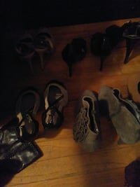 Assorted name brand heels and boots size 9 Austin, 78757