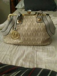96649f1367be Used Michael Kors leather tote bag for sale in Westland - letgo
