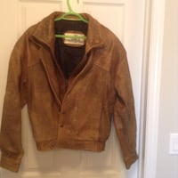 Men's leather jacket, tan/ brown, size medium Edmonton, T6W 3S2