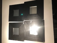 Set of 4 decorative mirrors  538 km