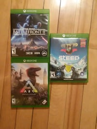 Three brand new Xbox One games with add on Saint Paul, 55107