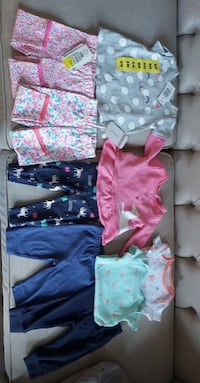Baby Girl Clothing Lot (15 pieces)- 6 months  Mississauga