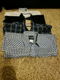 Mens casual, work, dress clothing lot