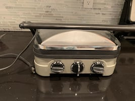 Electric grill, cuisinart Griddle