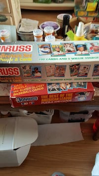 792 cards collectors set puzzle & cards and the best of the american league puzzle and cards boxes Brick, 08724