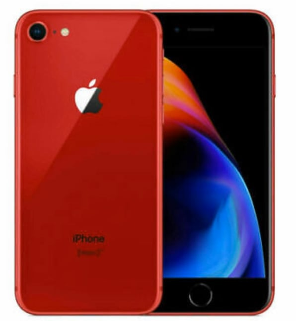 iPhone 8 64gb Product Red 07fc2ada-3bf1-47b7-96ba-b601d5704e97
