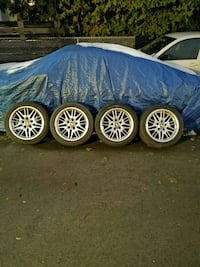 BMW M WHEELS with winter tires 5x [TL_HIDDEN]