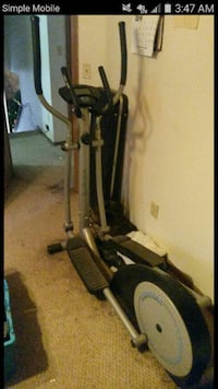 black and gray elliptical trainer screenshot Columbus, 43207
