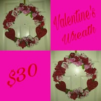 Valentine's Wreath 122 mi