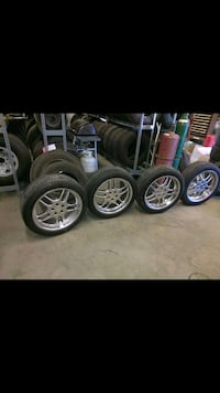 Tires and rims came off BMW good condition 20inch Youngstown