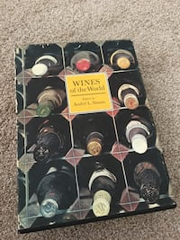 1967 collectors Book of wines of the world Santa Maria, 93454